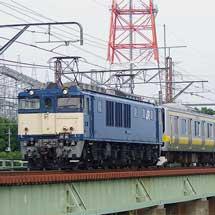 E231系B16編成が青森へ