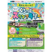 「東京&きたいわて 列車とバスでめぐろう!ぐるっとスタンプラリー」実施