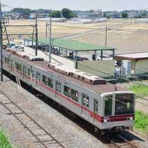 東武20000系21810編成が渡瀬へ