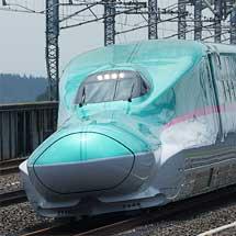 東北新幹線でお召列車運転