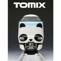 アドベンチャーワールド×TOMIXNゲージ鉄道模型「JR287系特急電車(パンダくろしお・Smile アドベンチャートレイン)セット」発売