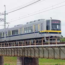 東武20000系リニューアル車が試運転で宇都宮線に入線