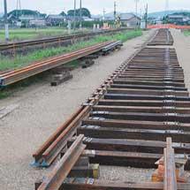 樽見鉄道美江寺—北方真桑間で仮線建設が進む