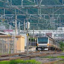 E233系T36編成が長野総合車両センターへ