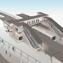小田急,小田原線鶴巻温泉駅の改良工事が完了