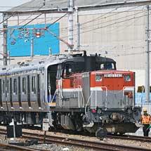 南海8300系6両が甲種輸送される