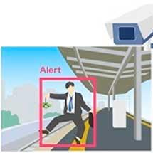 オプティム,常磐線佐和駅で「AI Physical Security Service」の実証実験を実施