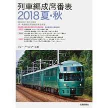 列車編成席番表 2018 夏・秋