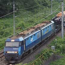 シキ801B2による特大貨物輸送