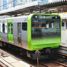 山手線で『東京2020』マスコットラッピング電車運転
