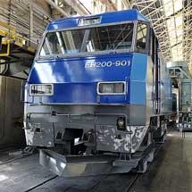 JR貨物 EH200-901号機 全般検査進行中!
