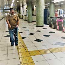 東京メトロ,視覚障がい者向け駅構内ナビゲーションシステム「shikAI」の実証実験を実施