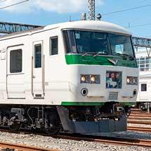 3月10日〜7月12日鉄道博物館でミニ展示「~おつかれさま!185系~」開催