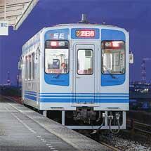 伊勢鉄道イセⅢ形の行先表示器に変化