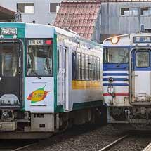 キハ110-238+キハ110-241が磐越西線経由で回送される