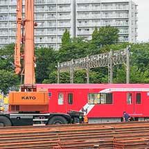 東京メトロ2000系が中野車両基地に搬入される