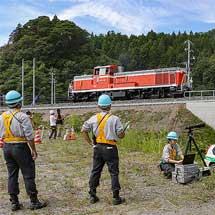 山田線釜石—大槌間にDE10形が入線