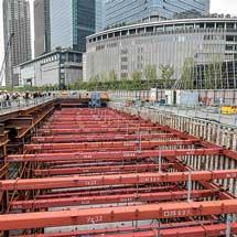 工事中の「うめきた新駅」公開