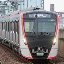 東京都交通局5500形が京成線・北総線で営業運転を開始