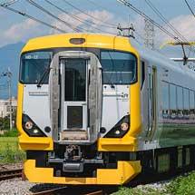 E257系500番台が上越線に入線