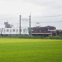 東京メトロ13000系第23編成が甲種輸送される