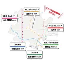 9月11日〜10月7日「あだち鉄道スタンプラリー」開催