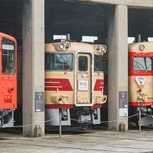 津山まなびの鉄道館で津山線開業120周年記念イベント開催