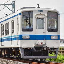 東武8000系81116編成が渡瀬へ