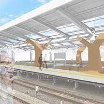 西武,飯能駅のリニューアルイメージを発表
