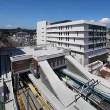 神戸電鉄,9月25日から鈴蘭台駅橋上駅舎の供用を開始