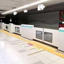 りんかい線,国際展示場駅の可動式ホーム柵を9月30日から使用開始