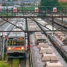 東急2000系2103編成が大井町線仕様に