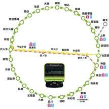 10月1日〜12月7日「ぐるり山手線シールラリー」実施