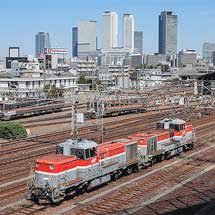 DE10重連単機による列車運転