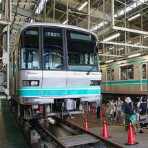 埼玉高速鉄道で『SR車両基地見学会』開催