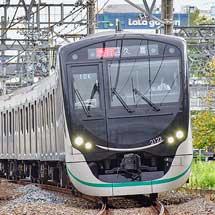 東急2020系が東武鉄道線内で営業運転を開始