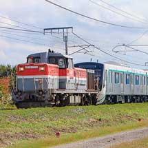 東急2020系・6020系が甲種輸送される