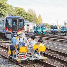 徳島運転所で『鉄道の日ふれあい祭り』開催