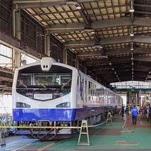 秋田車両センターが一般公開される