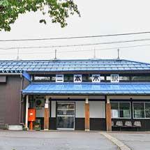 二本木駅の駅舎が復元される