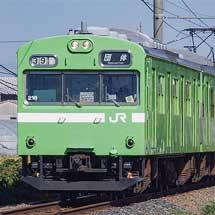 103系NS407編成が和歌山線へ入線