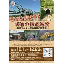 長浜鉄道スクエアで「明治150年企画展 どっこい生きてる明治の鉄道施設」開催