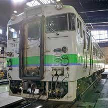 道南いさりび鉄道,キハ40形「JR標準塗色車」の営業運転を終了