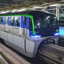 東京モノレールで「モノレールILLUMI号」運転