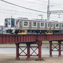 南海8300系による千代田工場直通列車運転