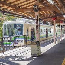 叡山電鉄が全線で運転を再開