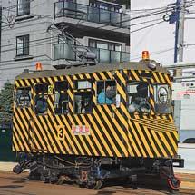 札幌市電の「ササラ電車」が試運転を実施
