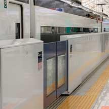 京成日暮里駅上りホームにホームドアを設置