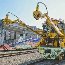 鷲宮保守基地で『新幹線工事用車両の特別公開』開催