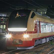 E653系U108編成が国鉄特急色となり出場